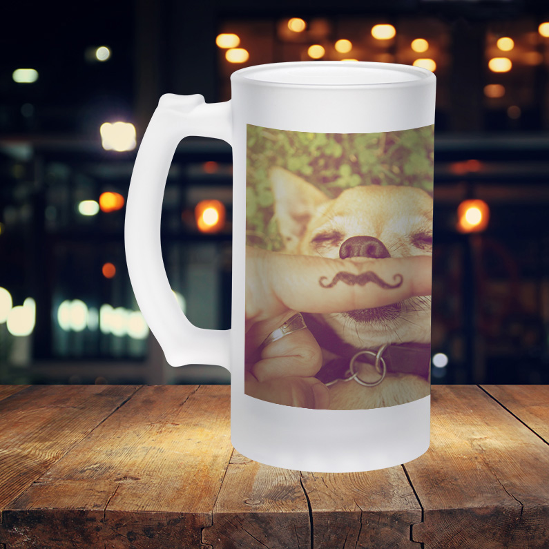 Frosted Beer Stein
