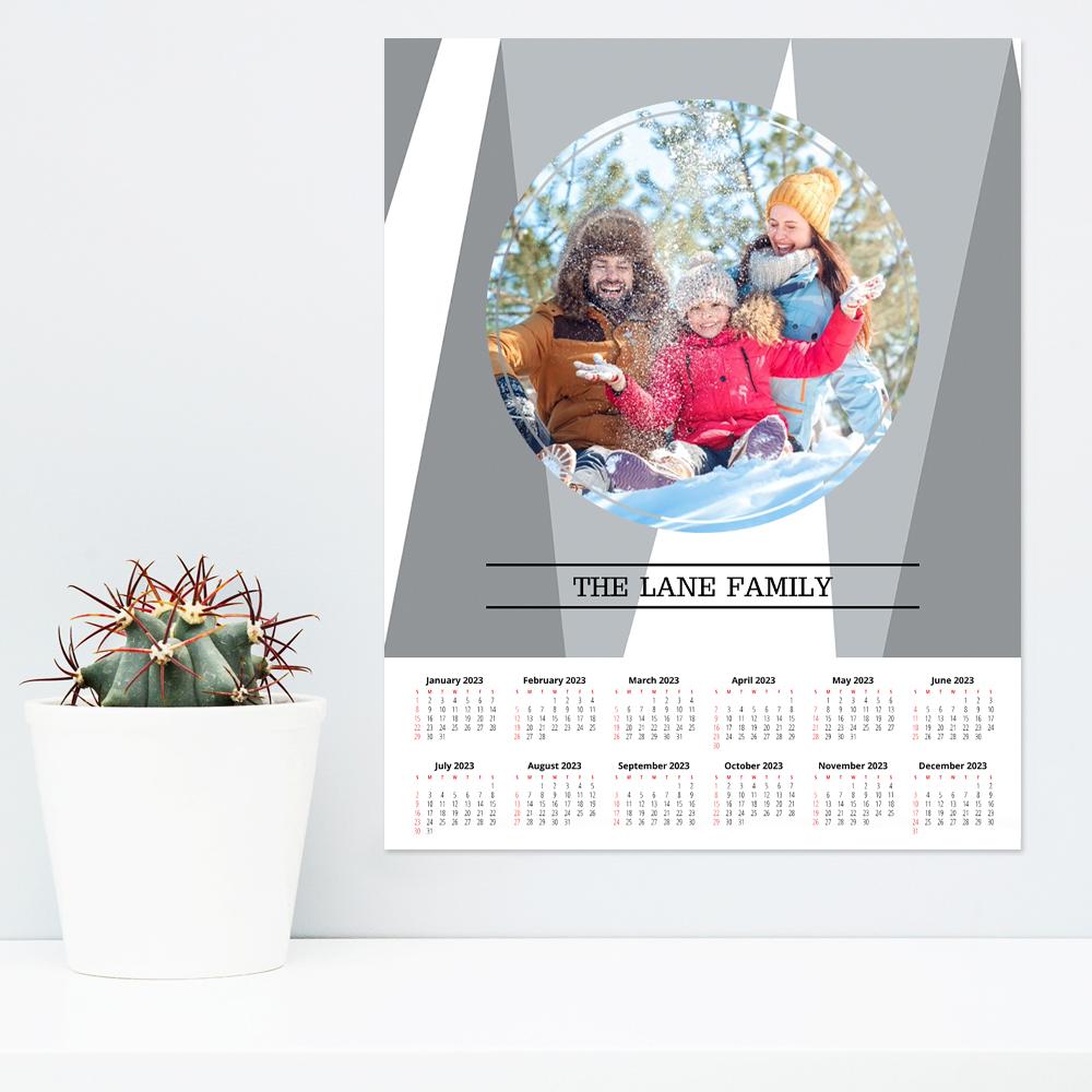 Calendar Poster Size : Poster calendar